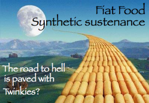 Fiat food synthetic sustenance