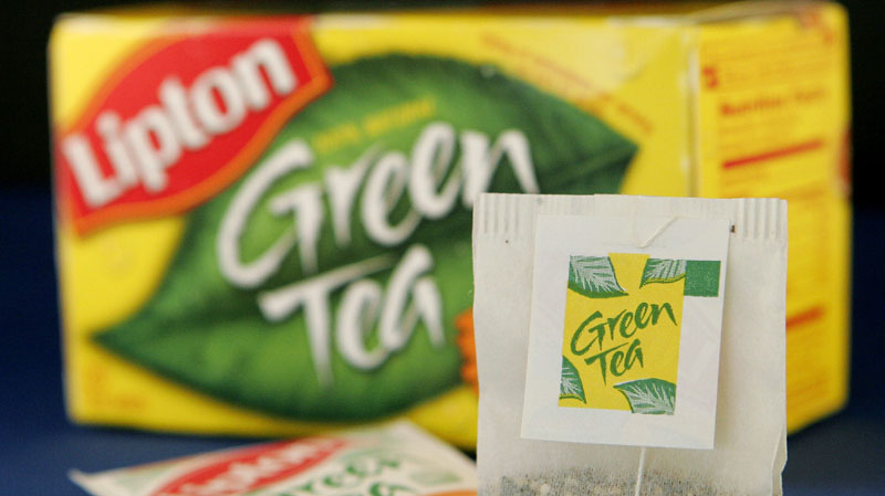 Lipton Green Tea. their green tea-flavored