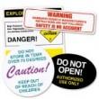 warning labels on food