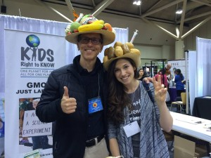 Rachel Parent and RSB funny hats, Canada, Total Health