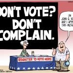 voter cartoon
