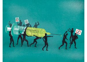 vaccine protest