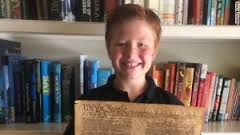 kid with constitution